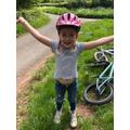Penny's bike ride.