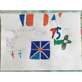 Harry's VE Day poster.