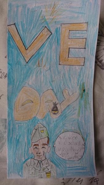 Reegan's VE Day Poster