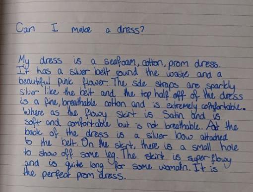 Reegan's Prom Description