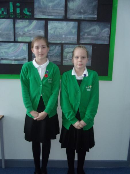 Magda and Imogen - our Ambassadors for Penguin House