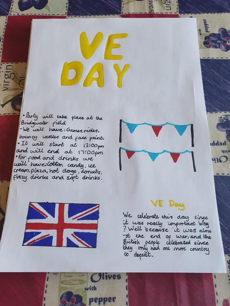 Bea's VE Day Poster