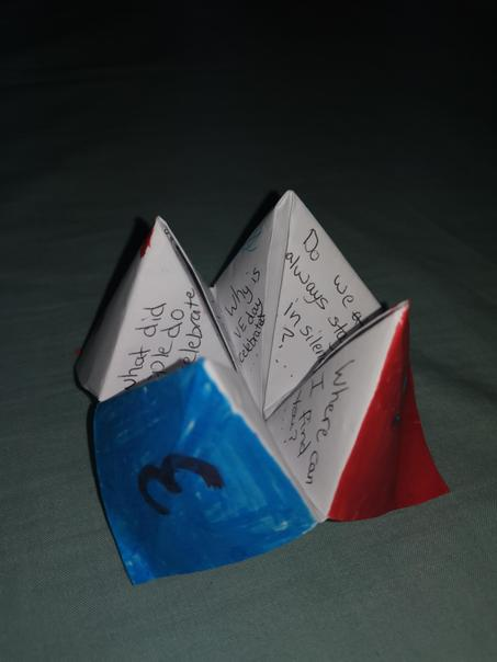 ...and even made a pop-up VE Day leaflet.