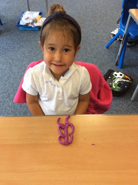 RAN-Aubrey W made a beautiful butterfly using playdough..JPG