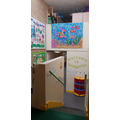 Entrance to EYFS Area