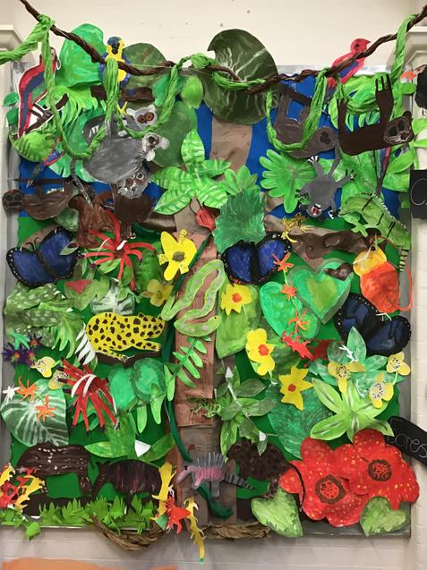 Our beautiful rainforest paintings