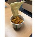 Pot street food - Chicken curry (Week 1)
