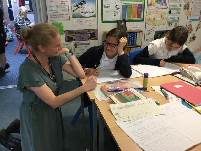 Mrs Wright - Class teacher/ KS2 Leader