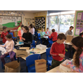 Year 5 WWI Making a trench