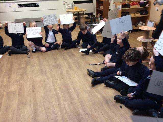 Reception Learning Letter Formation