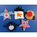 Sewing decorations Year 1
