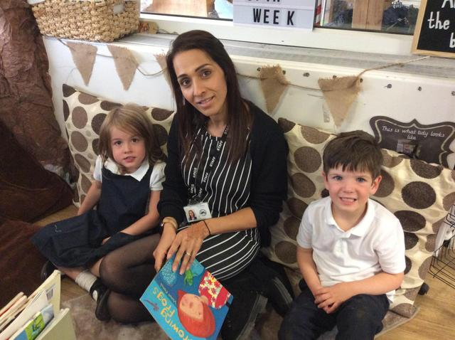 Mrs Walbank - Teaching assistant