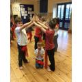 Learning Hindu dance
