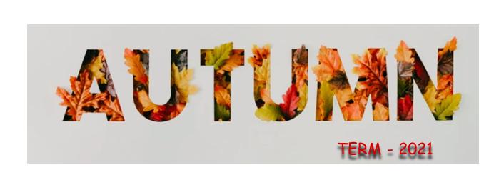 autumn term heading