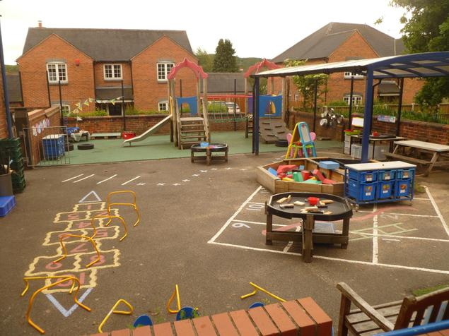 Play Area outside Class One