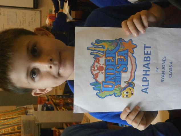 A fantastic sea creature alphabet Ryan!