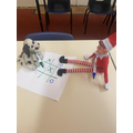 Day 4- it's nice to know that Elf is getting along with our toys in class 4!