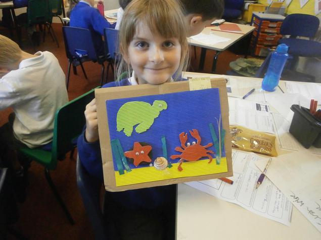 Super Under the Sea Picture Fran!