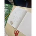 Children looked a features of Greek pots and had a go at sketching their own!