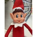 Day 6- it appears the cheeky elf changed Miss Wareham's lock screen to this scary photo!