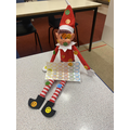 Day 3- it looks like the elf has been in Miss Wareham's desk and used up all her stickers!