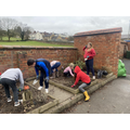 Class 4 had a fantastic afternoon getting the garden ready for our plants next week!