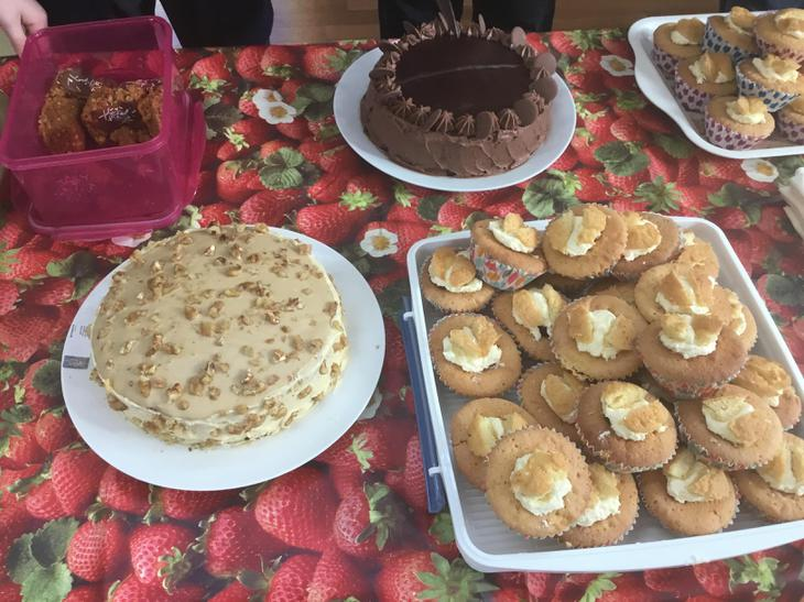 Delicious cakes - thanks for the contributions!