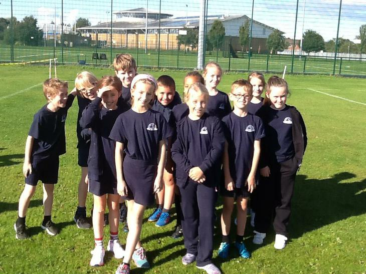 Our year 5/6 team in the 1st of 3 events