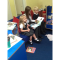 Year 6 reading to Class 1