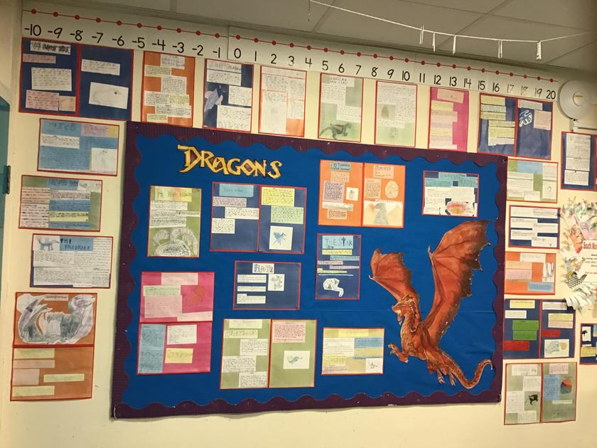 our dragon non-chronological reports