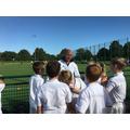 Meeting Danny Kerry, GB Ladies' Coach
