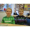Christmas jumper parade!