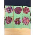 Our artwork inspired by impressionist artists.