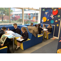 Carrying out research in the Discovery Centre