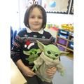 Christmas jumper parade! Yoda style..