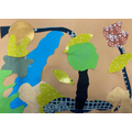 Looking at shape & art inspired by Matisee