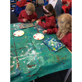 We created some impressionist art inspired by Monet.