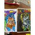 Mixing secondary colours / Picasso