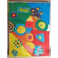 Mixing secondary colours / Kandinsky