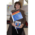 Mrs Redman as Angela Merkel