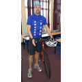 Mr Wilkie as Sir Bradley Wiggins