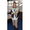Ms Quinn as Amelia Earhart