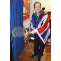 Mr Castleton as Andy Murray