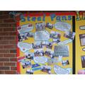 Steel Pans display
