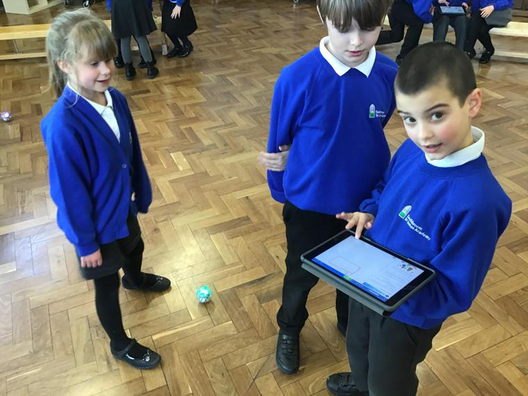 Using the Sphero to make shapes