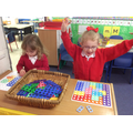 Numicon, I found all of the pieces to fill a board