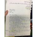 Writing letters (ysgrifennu llythyr)