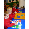 Using Numicon to develop maths skills