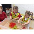 Developing senses with rainbow jelly