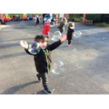 Fun chasing bubbles